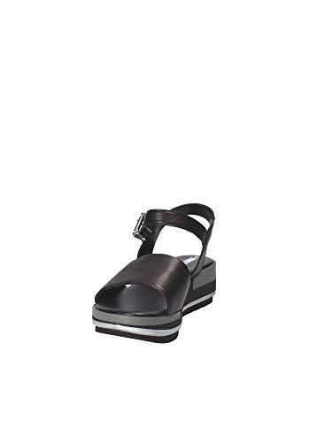 Sandalo Shoes Zeppa Grace 10201 Donna Nero 0EHxdqwd