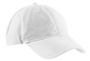 Port & Company 174 - Brushed Twill Low Profile Cap. CP77 White ()