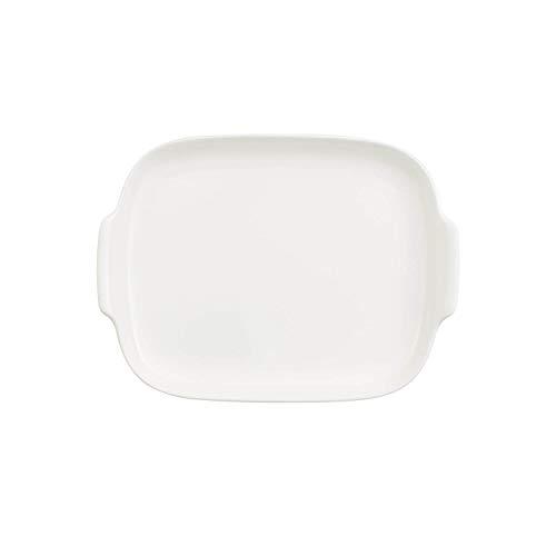 (Villeroy & Boch Royal Butter Dish Base, Premium Porcelain, White)