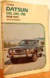 Datsun 510, 610, 710, 1968-1977 shop manual