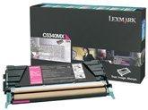 High C534 Extra Yield - Lexmark C5340MX OEM Toner - C534 Series Extra High Yield Magenta Return Program Toner 7000 Yield OEM