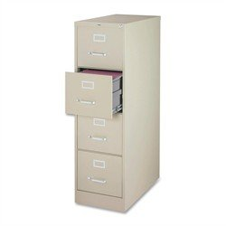 Lorell - Vertical File, 4-Drawer, Legal, 18