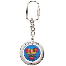 Barcelona FC Official Product Keyring New Season Design 3D Football CLUB Crest / Barcelona FC Keyring - Barcelona FC Keychain - Barcelona FC Keychain - FCB kery ring