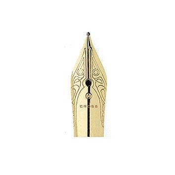 Gold Plated Nib Ring - Cross Century II 23 Carat Gold Plated Nib with Medium Ring Nib