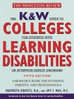 KandW Guide to Colleges for Learning, Marybeth Kravets and Imy Wax, 0375754148
