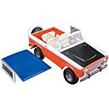 1971 Ford Baja Bronco Stroppe Limited Edition to 714 Pieces Worldwide 1/18 Diecast Model Car by Greenlight for Acme 51173 (4 Piece Bronco)