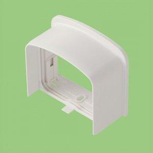10個セット 室内用 化粧カバー 《シンプルダクト SP》 エンドカバー(端末カバー) 一般タイプ ホワイト SPEN-85_set