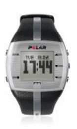 Lapine Associates 90039170 FT7M Mens Fitness Heart Rate Monitor - Black-Silver (Rate Heart Monitor Ft7m)