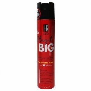 Salon Grafix Play it Big Volumizing Hair Spray, Touchable Ho