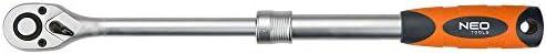 NEO 08-515 Mango telesc/ópico con carraca 1//2 Pulgadas, 305-445 mm