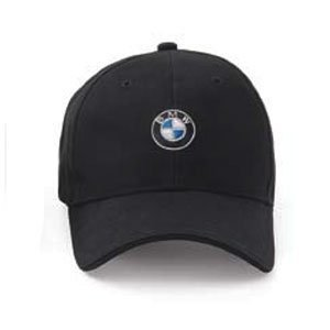 Bmw Genuine Roundel Cap   Black