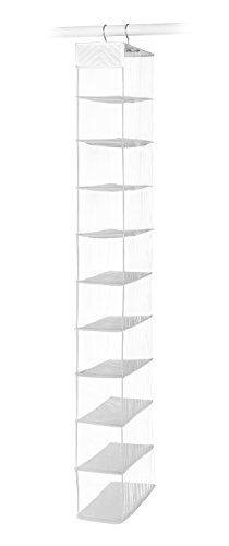 Whitmor 10 Section Hanging Shoe Shelf