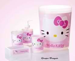 Best Seller Hello Kitty Amistad Bathroom Accessories (5 Piece Set)
