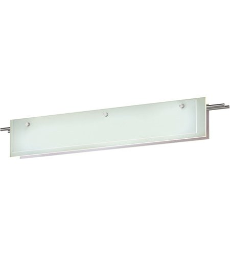 13 Sonneman Suspended Glass - Sonneman 3214-13LED LED Bath Bar, Silver