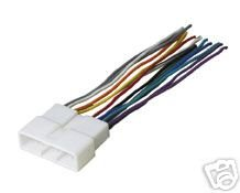 21C3QH44ZAL amazon com stereo wire harness honda civic 96 97 98 1998 car 1998 honda civic radio wiring harness adapter at soozxer.org