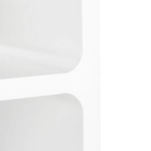 offenes Schweberegal oder Standregal B/ücher braun 3 Cubes f/ür Deko 90x30 cm CDs Relaxdays Wandregal mit 3 F/ächern