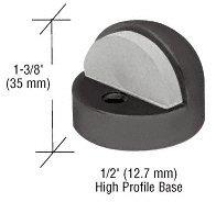 C.R. LAURENCE DL2502DU CRL Bronze Zinc Diecast Floor Mounted High Profile 1/2