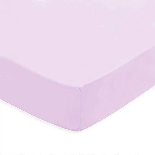 (Beige 90) 100% Cotton SÁBANA Bajera Lisa Ajustable con ELÁSTICO Inferior Adaptable COLCHÓN hasta 30 CM REGALITOSTV (Beige, 90_x_200_cm (Cama Individual))
