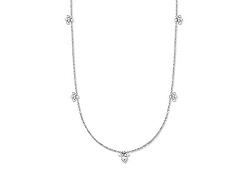 LILY & Lotty-Inde-- Collier Femme-Argent 925/1000-Diamant 0.01Cts