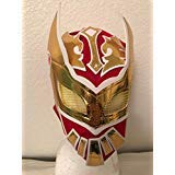 SIN CARA REd KIDS MASK KALISTO LUCHA DRAGONS PENTAGON JR MIL ()