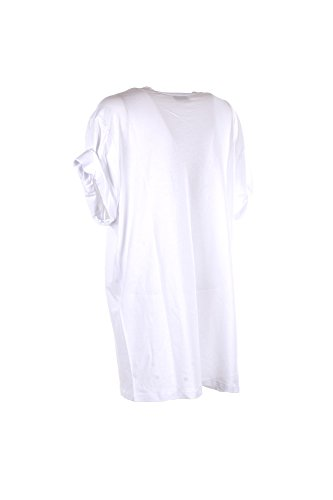 Elisabetta Franchi T-Shirt Donna 44 Bianco Ma05381e2 Primavera Estate 2018