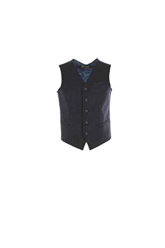 Gilet Uomo Outfit 52 Blu Mcl13 Autunno Inverno 2016/17