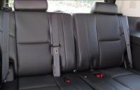 Seat Chevy 3rd Suburban (Durafit Seat Covers, 2007-2013 Chevy Suburban, Tahoe and GMC Yukon Exact Fit Seat Covers 3rd Row 50/50 Split Bench Seat. Made in Black Leatherette)