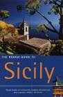 Front cover for the book The Rough Guide to Sicily by Robert Andrews