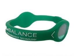 08c504c34cb32 Amazon.com : Power Balance Bracelet Green w/White letters Small ...
