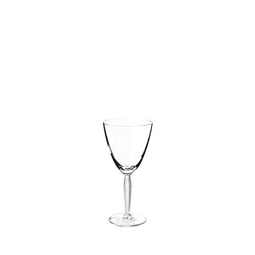 Lalique Louvre Wine Glass by Lalique