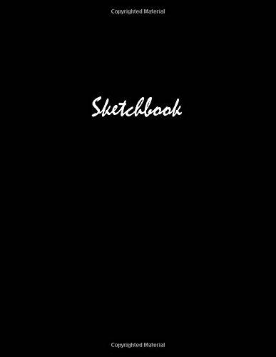 """Basic Black Sketchbook 8.5"""" x 11"""""""