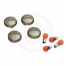 Harley Davidson Bulbs (Harley Davidson Turn Signal Smoked Lens Bulbs Kit W/bulbs 2002-2011)