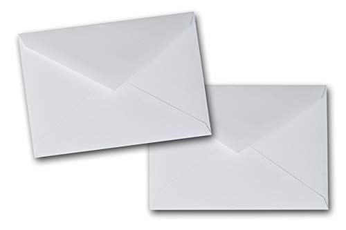 Premium Blank A-7 Lee Pointed Flap Envelopes - 250 Pack - Great for Bulk Invites, Greeting Cards, Post Cards, Invitations, Birthday Cards, Bulk Mailings, Showers, Events, Etc. (White)