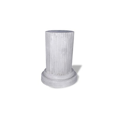 (Amedeo Design ResinStone 1900-7T Doric Pedestal, 20 by 20 by 36-Inch, Terra Cotta )