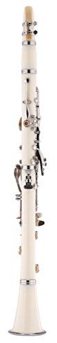 Kaizer Clarinet B Flat Bb White CLE-1000WH