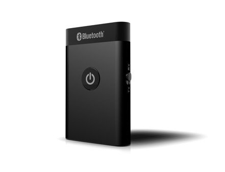 - 2-In-1 Bluetooth Audio Music Streaming Receiver and Transmitter with 3.5mm Stereo Output - Connect Your PC, iPhone, iPod, iPad, Tablets Or MP3 Player To Speakers and Entertainment Systems, Home Or Car