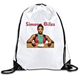 EDRE Men's&Women's Simone Biles Gymnastics Fashion Simone Biles Gymnastics Drawstring Shopping Bag