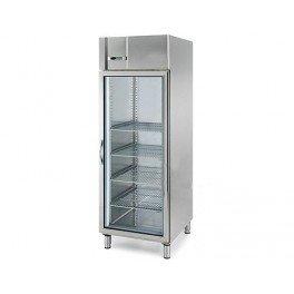 Congelador profesional 610 litros - acero inoxidable - 1 puerta ...