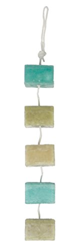 - DecoFLAIR Candles On A Rope Scented Tealight Votive Candles, Hibiscus Tea, String of 5 Candles