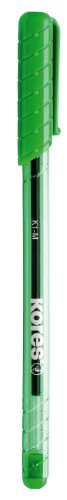 Kores Disposable-Ballpoint K-Pen K1, M, 12 pcs, Green
