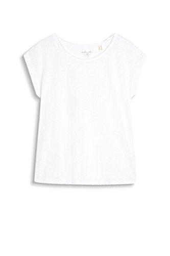 ESPRIT, Camiseta para Mujer Blanco (White)