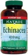 Natrol Echinacea 410mg Capsules, 90-Count (Pack de 2)