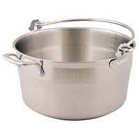 Swift Jam/Preserving pan in stainless steel with bucket style handle & helper handle 12101830 Cookware Specialty chutney
