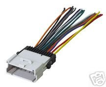 amazon com stereo wire harness pontiac vibe 03 04 2004 2003 car rh amazon com 04 Altima Wiring Harness Diagram 2003 toyota matrix stereo wiring diagram