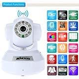 KKMOON HD 1.0MP Wireless Security WIFI IP Camera PnP P2P Pan Tilt IR Cut WiFi Wireless Megapixel Surveillance Camera Network IP Webcam
