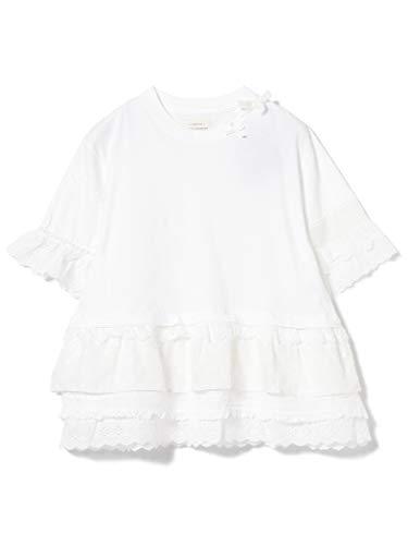 (빔스 보이)BEAMS BOY/T셔츠 TORI-TO × BEAMS BOY/레이스 티어드 5 분소매 레이디스