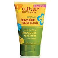 Alba Botanica Hawaiian, Pineapple Enzyme Facial Scrub by Alba Botanica