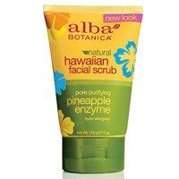 Alba Botanica Hawaiian, Pineapple Enzyme Facial Scrub by Alba Botanica
