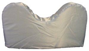 Satin Style Saver Pillow With Neck Cut-out * Blue (Saver Style)