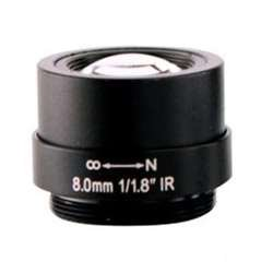 ARECONT VISION MPL8.0 ARECONT 8MM LENS 1 1/8'' F1.8 CS MOUNT FIXED IRIS